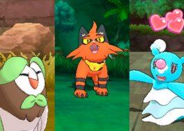 """Vem ver a evolução dos Pokémon iniciais de """"Pokémon Sun and Moon"""""""