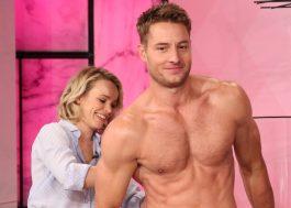 Rachel McAdams ajuda Justin Hartley a se despir no programa da Ellen