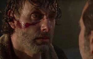"""""""TWD"""": em vídeo, Rick e Negan conversam logo após vilão matar personagem"""