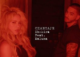 "Shakira lança música nova com o Maluma; ouça ""Chantaje"""