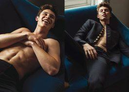Estamos passando mal com o ensaio do Shawn Mendes para L'uomo Vogue