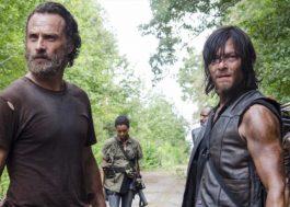 """Produtor de """"The Walking Dead"""" mostra os bastidores de *SPOILER* no retorno da temporada"""