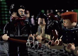 """""""The Walking Dead"""": fã recria cena do último episódio em versão LEGO"""