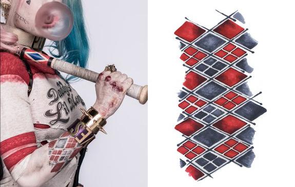 Novas Imagens De Esquadrão Suicida Mostram Tatuagens Da