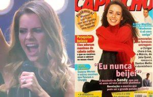 Sandy canta hits do Sandy & Junior em versão metal e admite ter mentido sobre primeiro beijo para revista