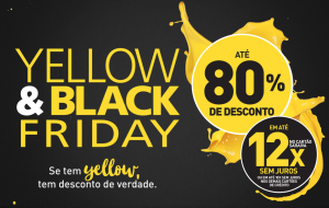Vamos fuçar o que tem de legal no Yellow & Black Friday da Saraiva?
