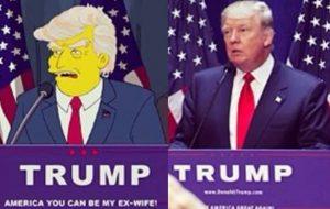 """16 anos atrás """"Os Simpsons"""" previa vitória de Donald Trump como presidente dos EUA"""