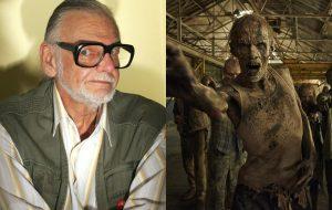 """George Romero diz que não faz mais filmes de zumbi por causa de """"The Walking Dead"""" e """"Guerra Mundial Z"""""""
