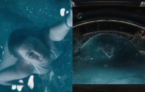 """""""Passageiros"""": Jennifer Lawrence está nadando numa piscina sem gravidade!"""