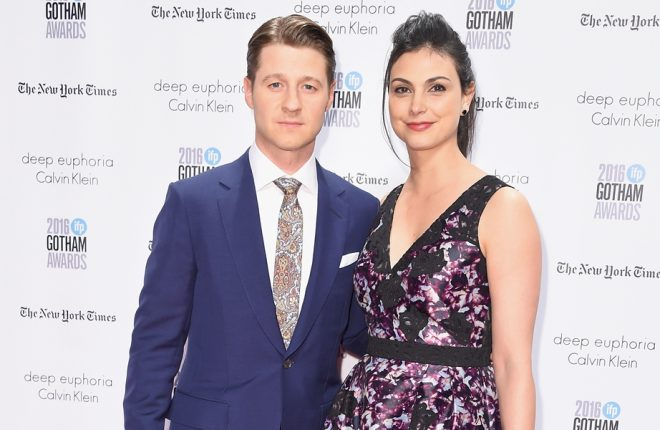 NEW YORK, NY - NOVEMBER 28: Ben McKenzie and Morena Baccarin attend the 26th Annual Gotham Independent Film Awards at Cipriani Wall Street on November 28, 2016 in New York City.  (Photo by Michael Loccisano/Getty Images)