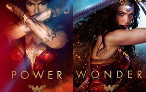 """""""Mulher-Maravilha"""" ganha pôsteres lindos enaltecendo os poderes da heróina"""