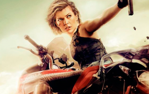 "Milla Jovovich pronta para aniquilar zumbis em novos pôsteres de ""Resident Evil: O Capítulo Final"""