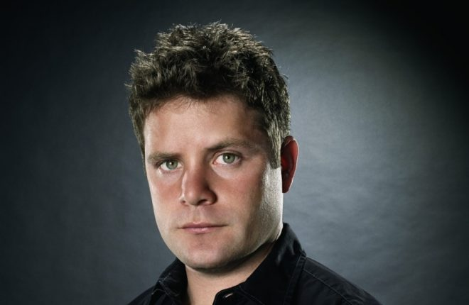 Actor Sean Astin in Black ca. 2001