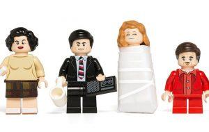 """Os personagens de """"Twin Peaks"""" estão de volta em versão LEGO!"""