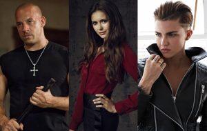 Vin Diesel, Nina Dobrev e Ruby Rose estarão na Comic Con de São Paulo!