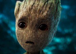 """Baby Groot rouba a cena em primeiro trailer de """"Guardiões da Galáxia Vol. 2"""""""