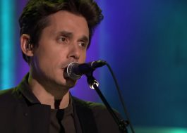 "John Mayer faz a primeira apresentação de ""Love on the Weekend"" no programa do Jimmy Fallon"