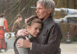 """Disney estaria negociando com a família de Carrie Fisher para futuras aparições em """"Star Wars"""""""