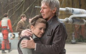"Harrison Ford se despede de Carrie Fisher: ""Ela era única!"""