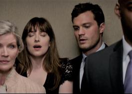 """Rola sexo e até masturbação no elevador nesse trailer de """"Cinquenta Tons Mais Escuros"""""""