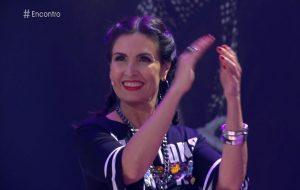 """A Ludmilla foi ao """"Encontro"""" e fez a Fátima mostrar que é bem danada!"""