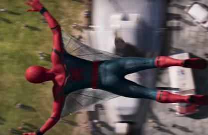 """Prévia do novo """"Homem-Aranha"""""""
