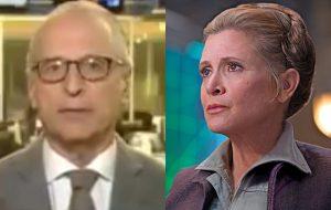 Jornalista se desculpa por brincadeira sobre a morte de Carrie Fisher