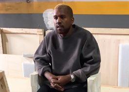 Kanye West é visto pela primeira vez após internação e ele está loiro