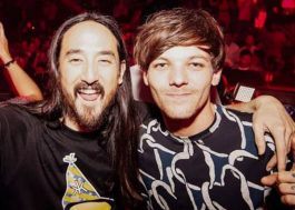 "Ouça ""Just Hold On"", música de Louis Tomlinson e Steve Aoki"