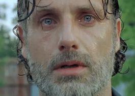 """Rick aparece chorando em prévia da mid season de """"The Walking Dead"""""""