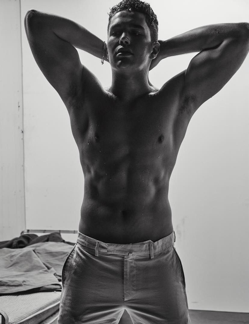 Resultado de imagem para austin mahone L'Uomo Vogue