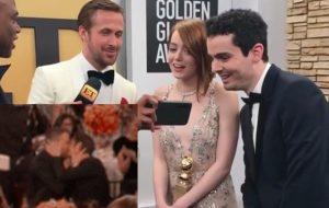 Emma Stone ficou chocada com beijo de Ryan Reynolds e Andrew Garfield