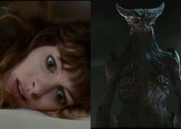 """WTF! Anne Hathaway descobre que controla um monstro gigante no filme """"Colossal"""""""