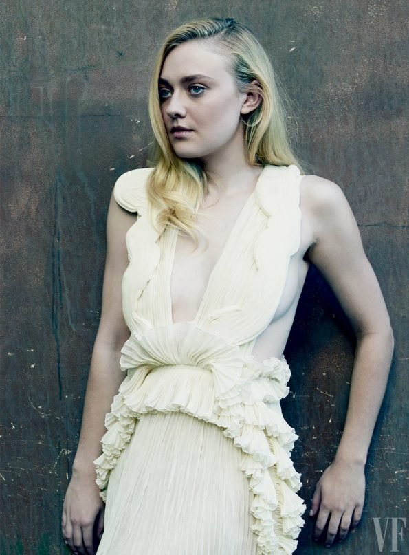 dakota fanning vanity fair