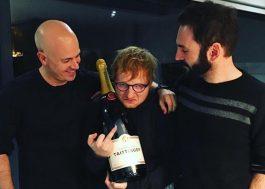 Pela primeira vez, Ed Sheeran alcança o topo da parada da Billboard