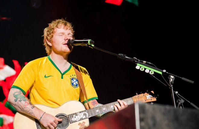ed sheeran brasil