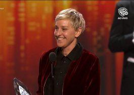 PCA's: Ellen leva três troféus e se torna a maior ganhadora da história da premiação