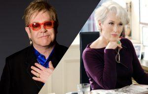 """Elton John vai escrever o musical sobre """"O Diabo Veste Prada""""!"""