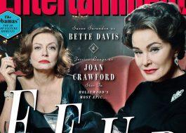 """Divas e poderosas: Jessica Lange e Susan Sarandon na 1ª foto oficial de """"Feud"""""""