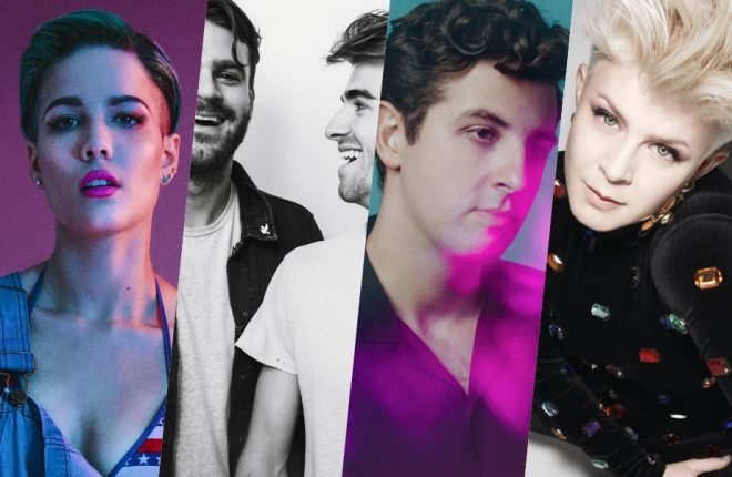 halsey xx chainsmokers robyn