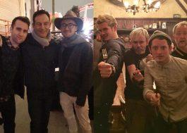 """Reunião dupla: elencos de """"Harry Potter"""" e """"O Senhor dos Anéis"""" se reencontram!"""