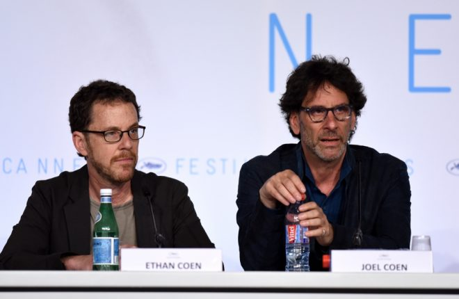 CANNES, FRANCE - MAY 13: Jury presidents Ethan Coen and Joel Coen attend the press conference for the members of the Jury during the 68th annual Cannes Film Festival on May 13, 2015 in Cannes, France.  (Photo by Ben A. Pruchnie/Getty Images)