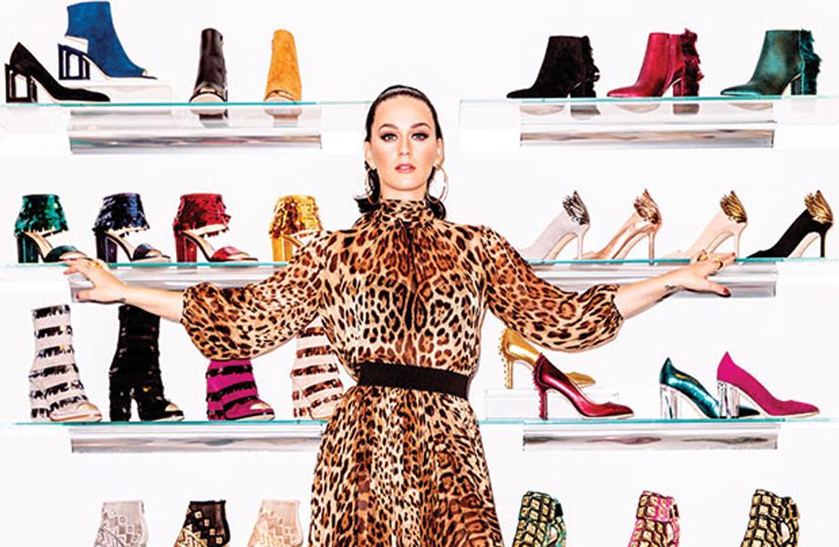 Katy Perry empreendedora; vem ver a linha de sapatos dela!