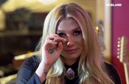 Kesha nos emocionando!