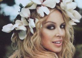 Músicas novas chegando? Kylie Minogue está gravando em estúdio!