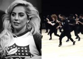 Vem ver a Lady Gaga e seus dançarinos se preparando para o Super Bowl 2017