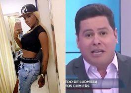 """Após chamar Ludmilla de """"macaca"""", apresentador é afastado do """"Balanço Geral""""; cantora vai processar"""