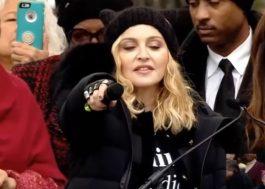 """Madonna explica frase sobre """"explodir a Casa Branca"""" em marcha: """"Usei uma metáfora"""""""