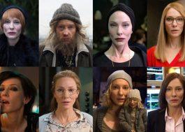 Saiu um trailer daquele projeto que a Cate Blanchett interpreta 13 personagens!
