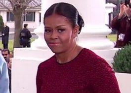 Michelle Obama vira meme na posse de Trump e representa toda a internet!